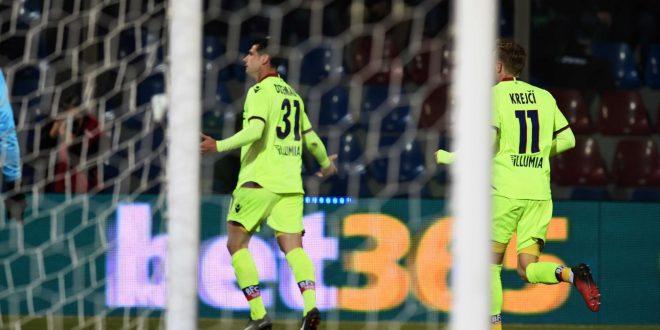 Serie A, 20ª giornata: Crotone-Bologna 0-1; Dzemaili salva i rossoblù, calabresi nei guai