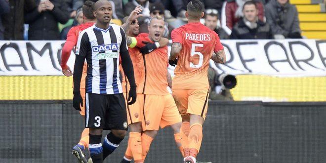 Serie A, 20ª giornata: Roma e Napoli ok; Lazio di rimonta. Il Palermo sprofonda