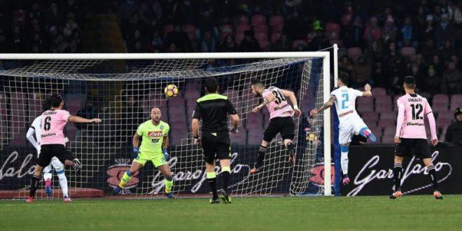 Serie A, 22ª giornata: il Napoli sbatte sul Palermo, l'1-1 fa sorridere solo Diego Lopez