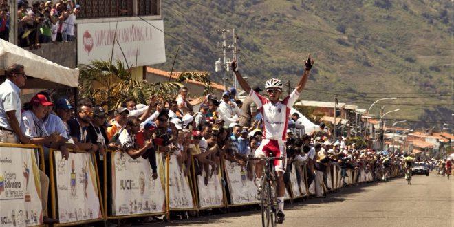 Vuelta al Tachira 2017, Roniel Campos in solitaria a La Grita
