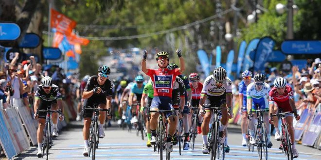 Tour Down Under 2017, Ewan centra il tris