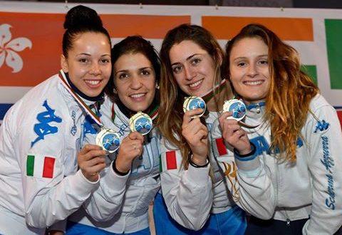 CDM Scherma, ad Algeri trionfa il fioretto azzurro