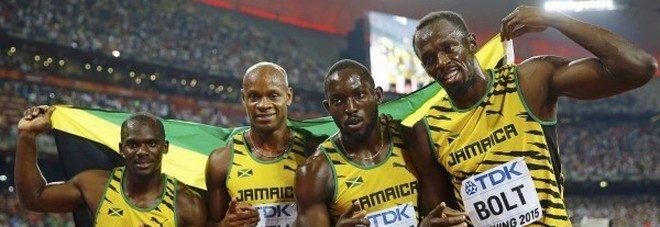 Doping, Bolt perde l'oro della 4×100 a Pechino 2008: positivo Nesta Carter