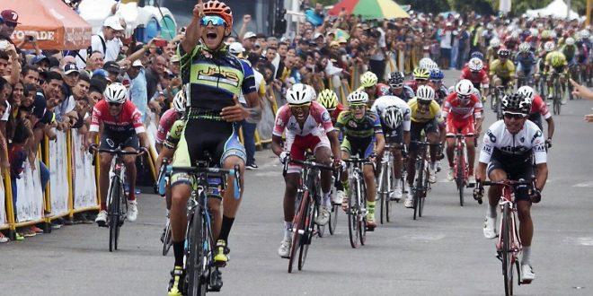 Vuelta al Tachira 2017, sprint vincente di Yonathan Monsalve