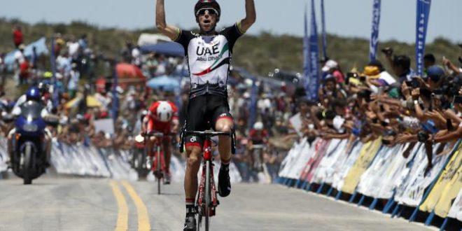 Vuelta a San Juan 2017, sull'Alto Colorado festeggia Rui Costa