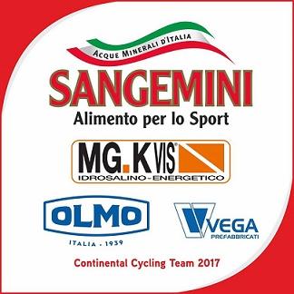 Sangemini-Mg.KVis-Olmo, presentata la Continental azzurra