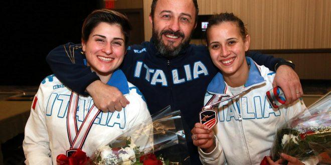 CDM Scherma, la sciabola azzurra piazza due donne sul podio di New York