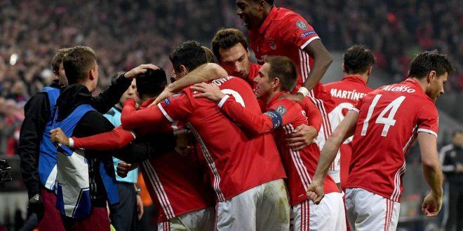 Champions, una manita verso i quarti: il Bayern asfalta 5-1 l'Arsenal