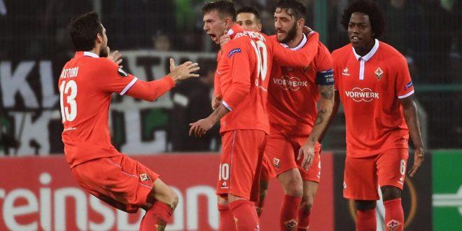 Europa League, 16/mi: Fiorentina che impresa a Monchengladbach, e che gol Bernardeschi!
