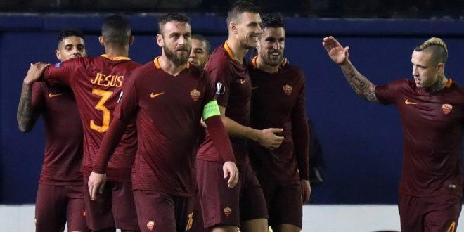 Europa League, 16/mi: capolavoro Roma, Villarreal k.o. 0-4 con il formato 3-Dzeko