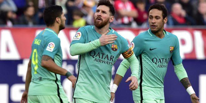 Liga, 24ª giornata: Barça, colpaccio al Calderón; sul 2-1 c'è il piede di Messi