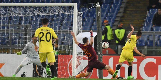 Europa League, 16/mi: la Roma cala il voltaggio, il Villarreal vince ma non serve
