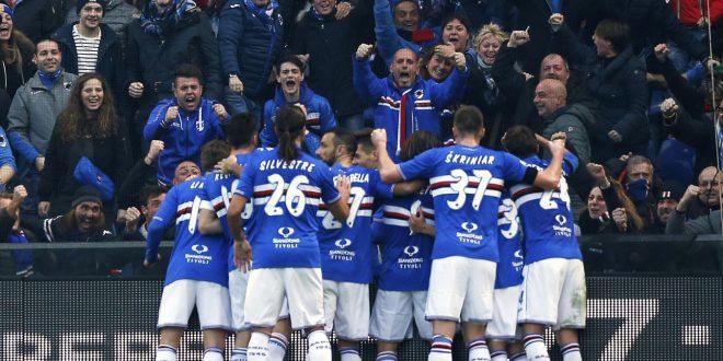 Serie A, 24ª giornata: Sampdoria-Bologna 3-1, è la terza bellezza blucerchiata