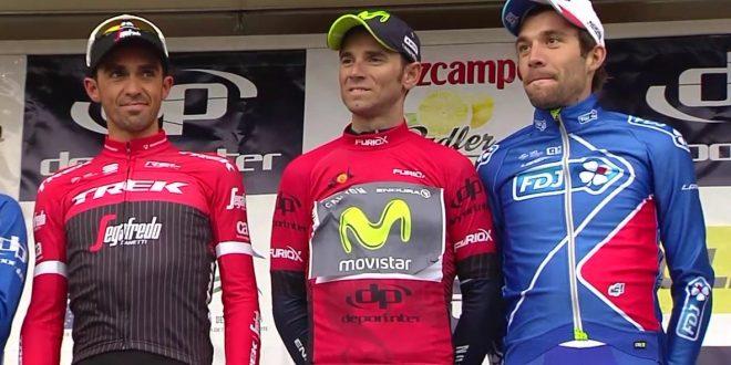 Valverde trionfa alla Vuelta a Andalucia 2017. Wellens vince l'ultima tappa