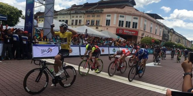 Tour de Langkawi 2017, Gibbons consolida il primato