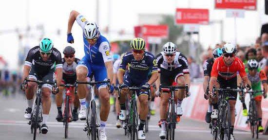 Abu Dhabi Tour 2017, Kittel beffa Ewan