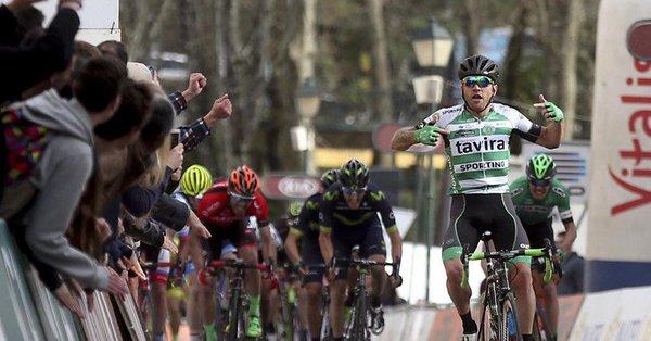 Nocentini torna alla vittoria: sua la prima tappa della Volta ao Alentejo 2017
