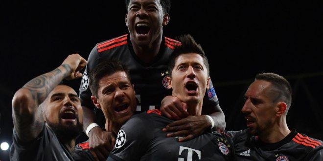 Champions, ottavi: l'Arsenal s'illude ma il Bayern non perdona: altra manita, altro 5-1!