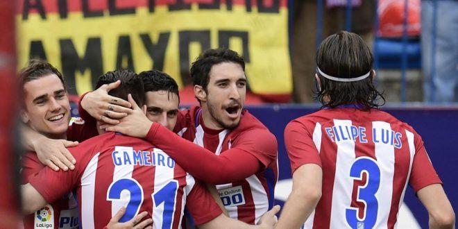 Liga, 26ª giornata: tre squilli dell'Atletico al Valencia; Las Pal-manita sull'Osasuna!