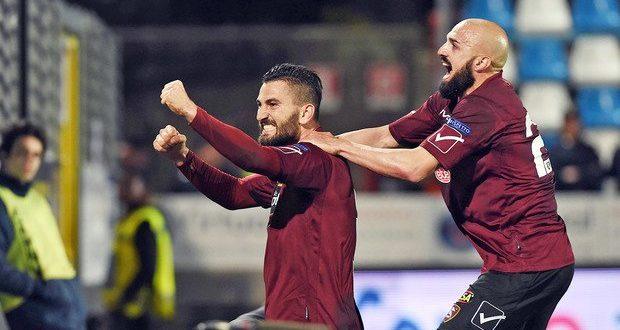 Serie B, 31ª giornata: Salernitana corsara a Chiavari, 0-1 e salvezza più vicina