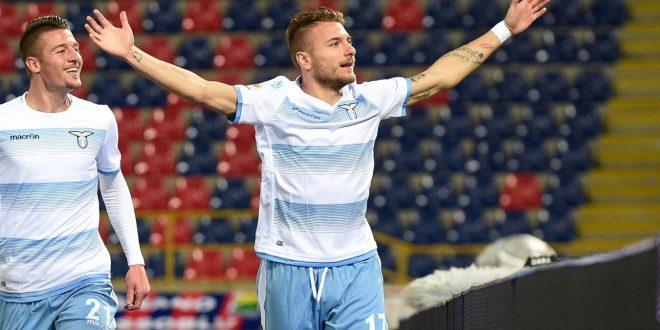 Serie A, 27ª giornata: Bologna-Lazio 0-2, Immobile si prende pure il Dall'Ara