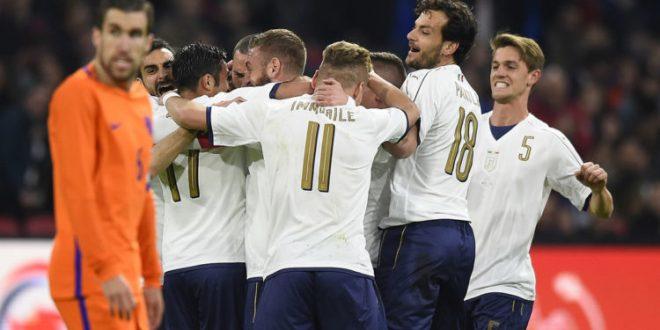 Nazionale, l'Italia sbanca Amsterdam: Olanda al tappeto 1-2 fra tanti debutti