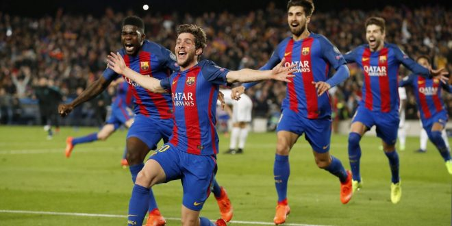 Champions, ottavi: Barcellona-Psg 6-1, Remuntada epica blaugrana al 95'!