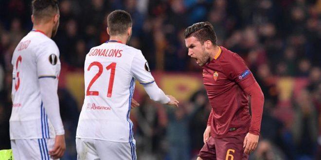Europa League, ottavi: Roma-Lione è solo 2-1, i giallorossi salutano la competizione