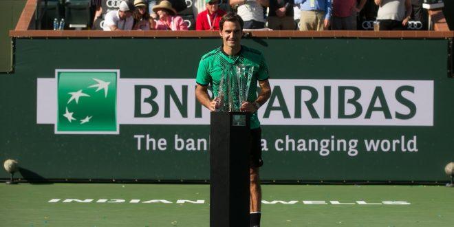 Indian Wells 2017, 90 volte Federer!