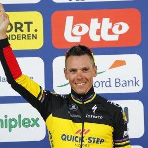 Philippe Gilbert vince la Tre Giorni di La Panne 2017. Crono finale a Durbridge