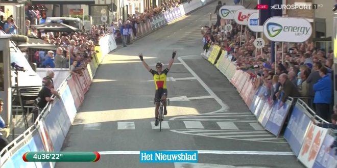 La Panne 2017, Gilbert ritrova la vittoria a Zottegem. Terzo Consonni