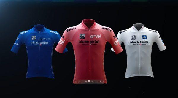Giro 100, svelate le Maglie