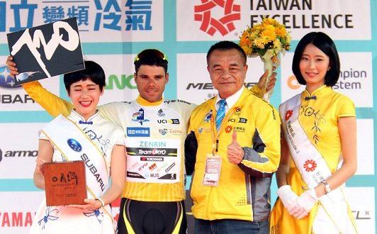 Benjamin Prades vince il Tour de Taiwan 2017