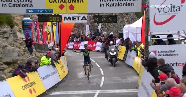 Giro della Catalogna 2017, è ancora Valverde!