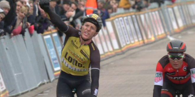 Dwars door West Vlaanderen 2017, successo di Van Emden