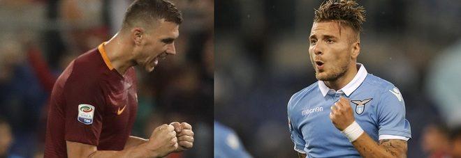 Coppa Italia, verso Roma-Lazio: Dzeko vs. Immobile, solo grandi numeri per prendersi la finale