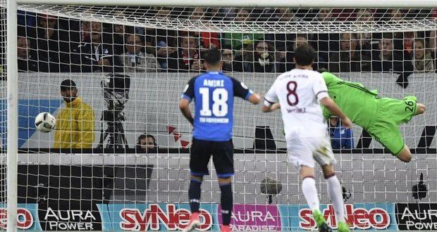 Bundesliga, 27ª giornata: che colpo dell'Hoffenheim, Bayern al tappeto! Tris Dortmund, tracollo Schalke