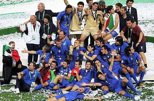 Mondiale 2006, il podio della Coppa abbandonato in un parco di Berlino!