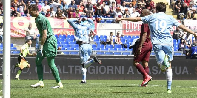 Serie A, 35ª giornata: Roma-Lazio 1-3, è un altro capolavoro biancoceleste!