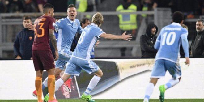 Coppa Italia: la Roma vince 3-2 il derby, ma la finale è tutta della Lazio!