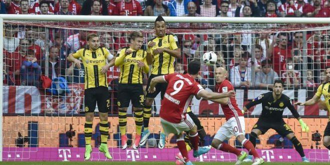 Bundesliga, 28ª giornata: troppo Bayern per il Dortmund, i bavaresi trionfano 4-1