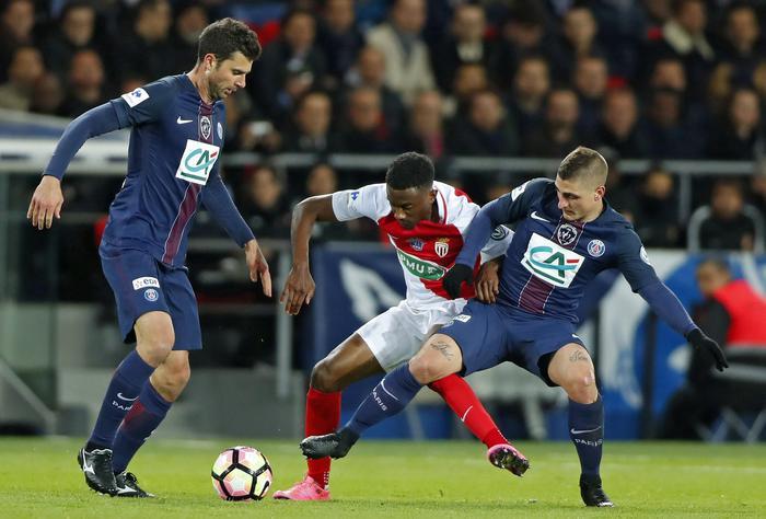 Coupe de France: Psg-Monaco 5-0, Cavani & co. passeggiano alla grande