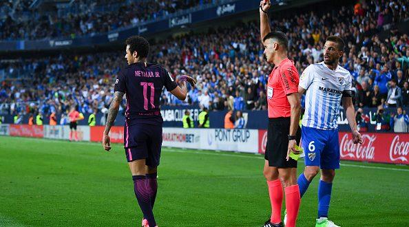 Liga, 31ª giornata: Barcellona, sprofondo rosso a Malaga; 2-0, Neymar espulso e a rischio Clasico!