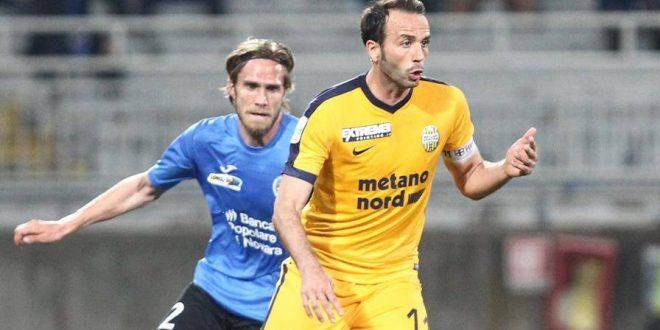 Serie B, 35ª giornata: il Verona rallenta ancora, Pazzini lo salva sul 2-2 a Novara