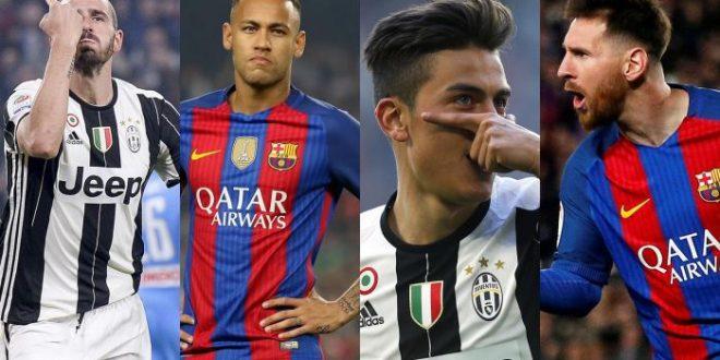 Champions, quarti: Juventus-Barcellona probabili formazioni