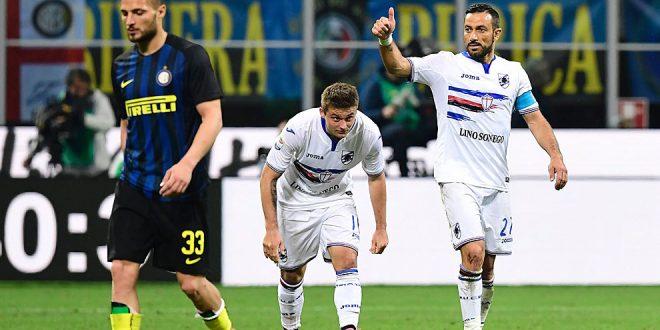 Serie A, 30ª giornata: Inter-Sampdoria 1-2, addio Champions per i nerazzurri