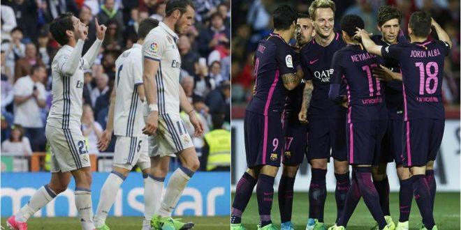 Liga, il punto dopo la 29ª: Real-Barça, braccio di ferro continuo; l'Atletico riacciuffa il Siviglia