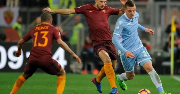 Serie A, 34ª giornata: Roma-Lazio probabili formazioni