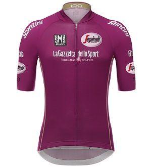Giro 100, torna la storica maglia ciclamino