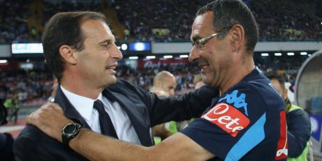 """Serie A, verso Napoli-Juventus: le dichiarazioni della vigilia. Dall'""""antipolitico"""" Sarri al """"solare"""" Allegri"""